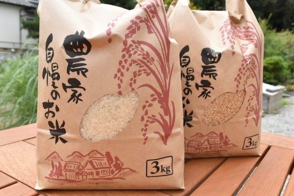 (白米・玄米)2020年館山産コシヒカリ3kg X2袋セット