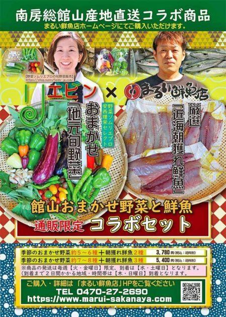 館山おまかせ野菜と鮮魚コラボセット